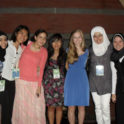 Nada  Gaber '06 And  Hadiya  Nasser '08 Attend The  W2 W  International  Leadership  Conference