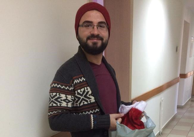 Albania Christmas At The Childrens Hospital Alumnus Amarild Hazizaj Yes13 At Being A Santas Yes Elf