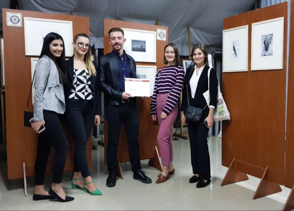 Albania Yes Alumni Participation In An Art Expo To Support Fellow Alumni Rei Bengu