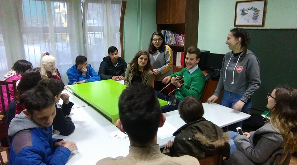 Albania Story Telling English Class