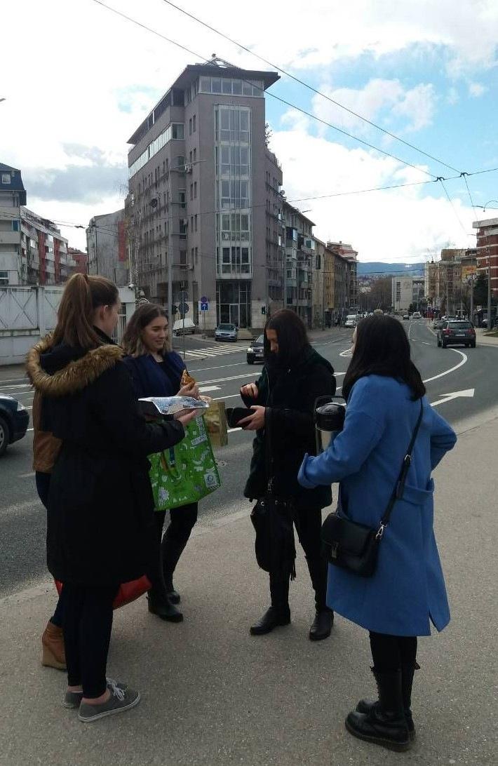 Bosnia And Herzegovina Sarajevo Merima Muhic Yes Alumni And Yes Abroad Students Raising Funds For A Dog Shelter 1