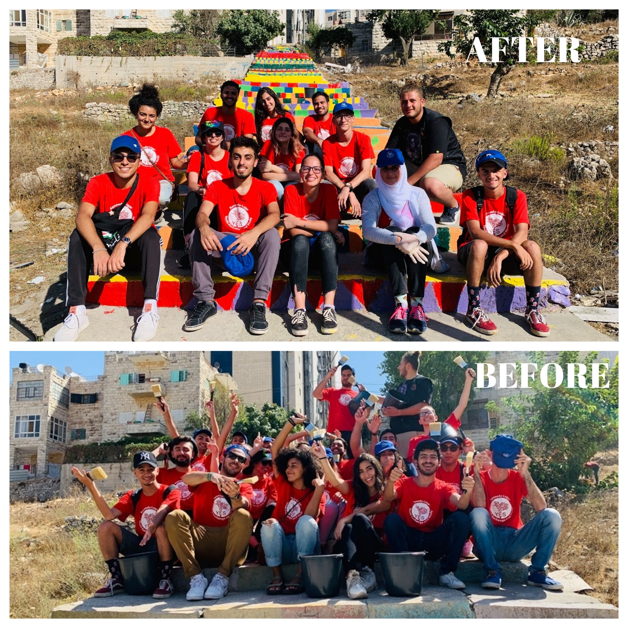 Before And After West Bank