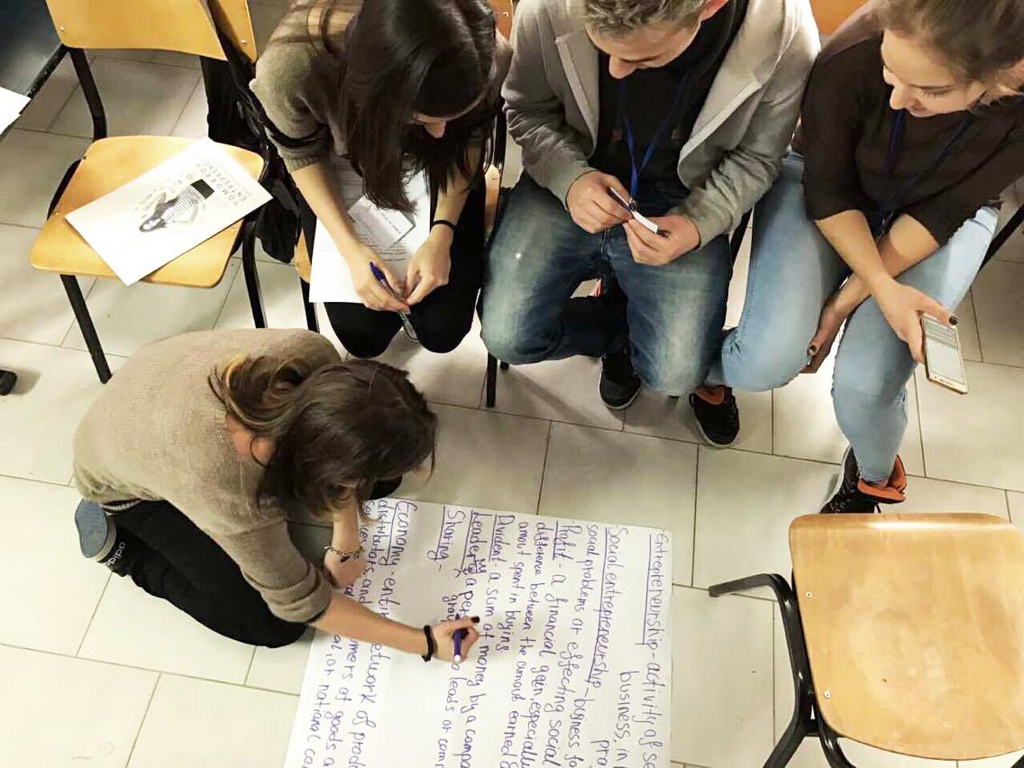 Chausidis Te Bogdanci Team Work On Defining Vocaulary On The Subject Of Social Entrepreneuship