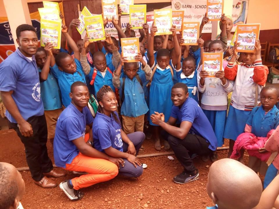 Cameroon Book Drive 3