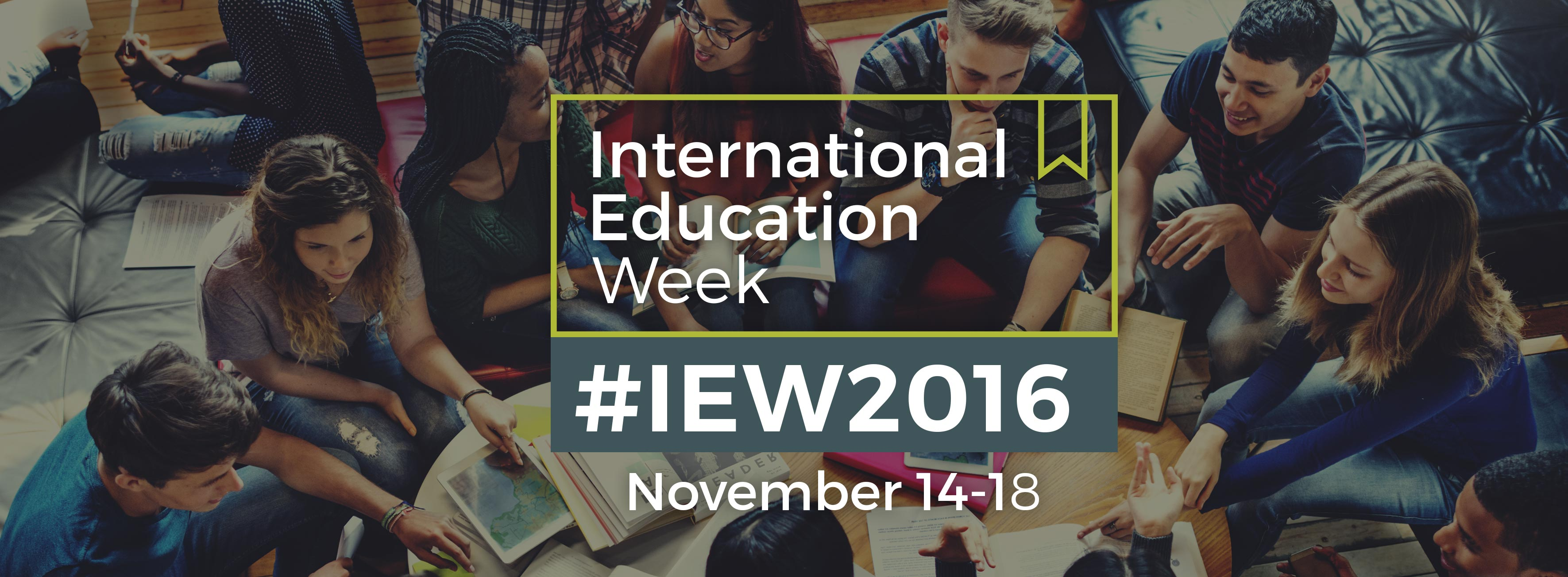 ... is International Education Week, and there is no better time to tell the world about your exchange experience! To celebrate this year's IEW theme, ...