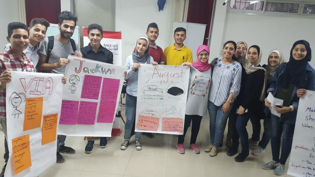 Gaza Group Of Photo Of The Yes Alumni And The Access Students