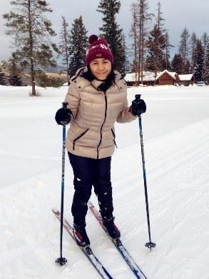 Ina Ni Putu Aryanti Skiing