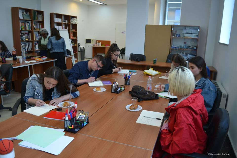 Kosova Kosovo Slam Poetry First Workshop