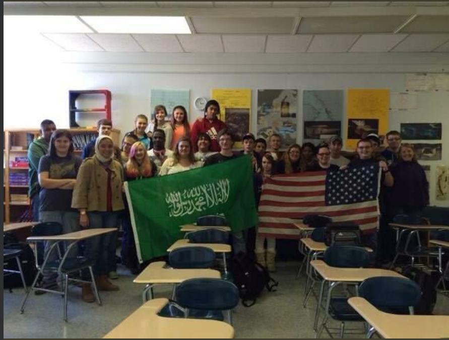 Ksa Razan Alaqil With Class And Flags Iew