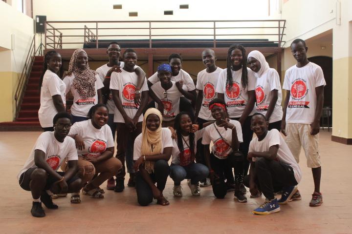 Senegal Dakar Yes 18 Alumni Along With Alumni Coordinator And Senior Alumni Who Helped As Mentors During The Re Entry Seminar