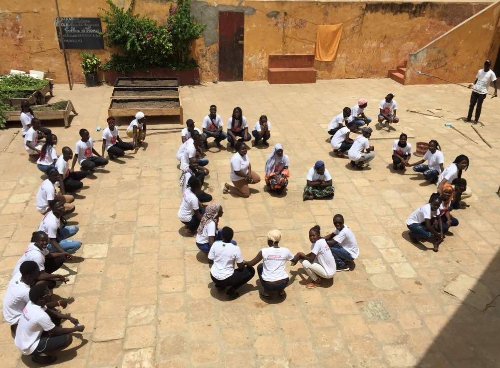 Senegal Dakar Alumni Making A Human Yes At The Yes 18 Re Entry Seminar 2