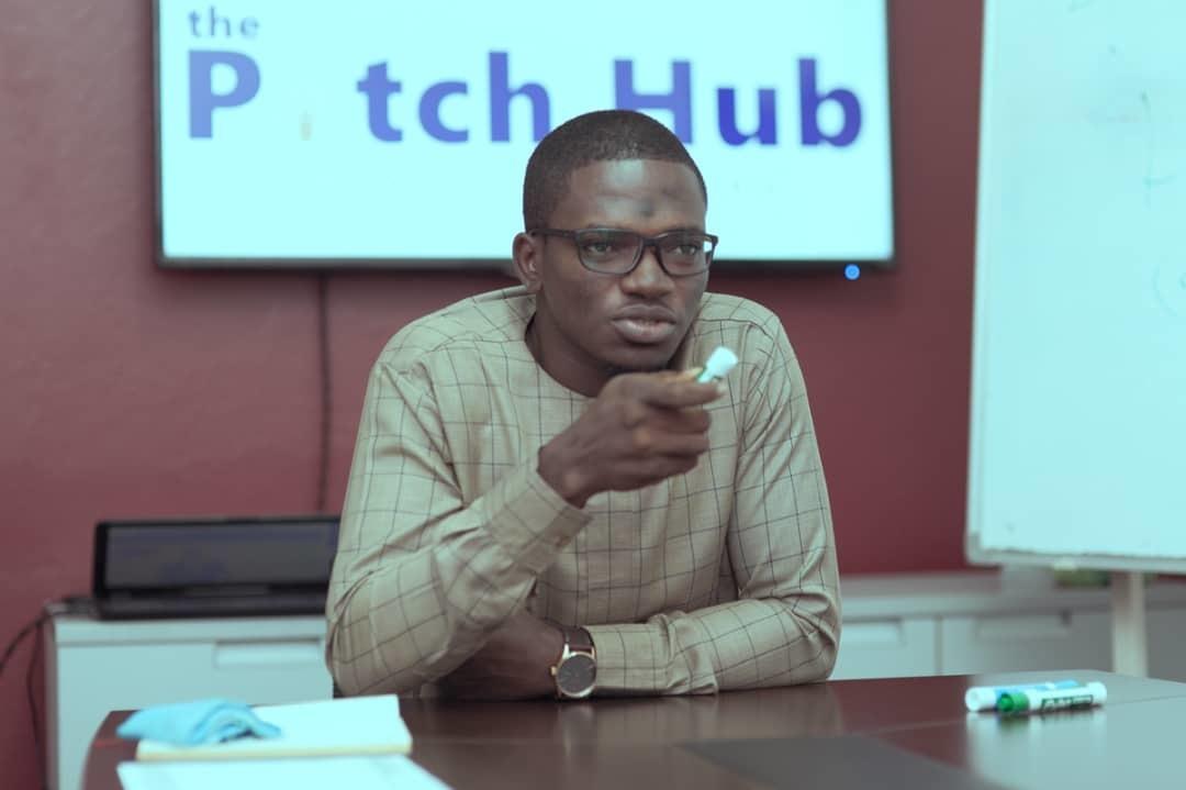 Use Project Lead Adu Nasir Ahmad Speaking To Trainees