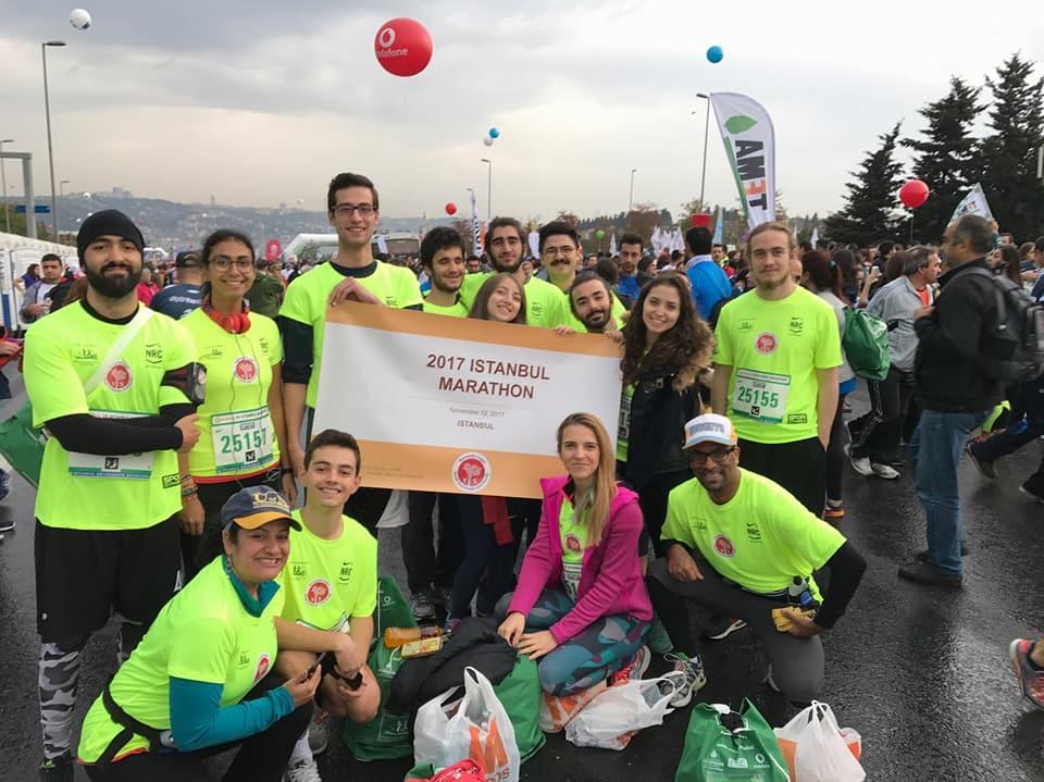 Yes Alumni Turkey Istanbul Marathon 2017 1