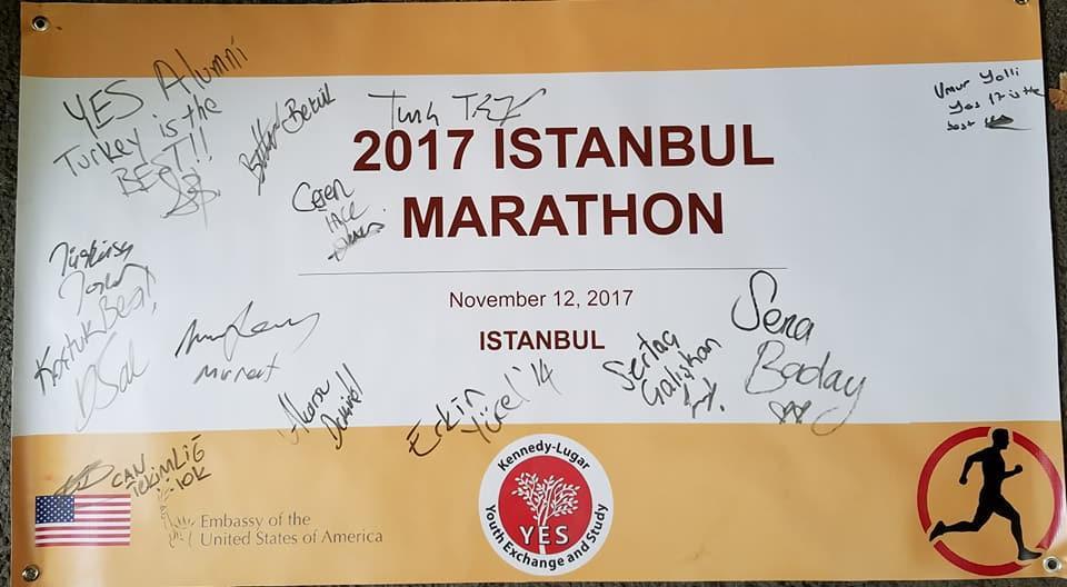 Yes Alumni Turkey Istanbul Marathon 2017 2