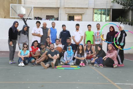 Usg Alumni Who Participated In The Sports Event At The Ymca