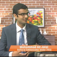 YES Alumnus Featured on Television Network in Pakistan