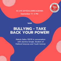 Live Talk: Bullying-Take Back Your Power!