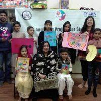 Helping Children through Arts and Crafts