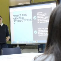 Developing English Skills Through Discussion of Gender Equality