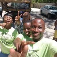 Cleaning Up Kigamboni Beach Area