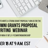 YES Alumni Grant Proposal Writing Webinar