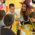 Bulgaria  Alumni Bring Halloween To Varna  Rada Enjoying Her Time Helping The Kids