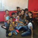 Dania Hawat Yes 12 With English Students