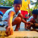 Engaging Kids Help On Biomass Making
