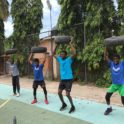 Highlight Kusorgbor Photo Of Some Participants Doing Some Physical Training Drills