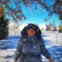 Imen And First Snow