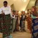 Ken Mercy In Oconomowoc Girl Scout World Thinking Day Cloth Tying