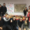 Kosova Yes Alumni Gathered At The Office For An Early Thanksgiving Celebration