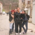North Macedonia Jordana Bozhinova 12 With Friends In Kratovo Upon Her Return From The States