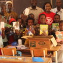 Senegal Dakar Alumni Delivering School Supplies To Students At The Elementary School Of Goree Island On Iew Jp