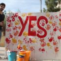Yes Handprints Mural Yes Alum Yazeed Tbaishat Yes 2011 2012