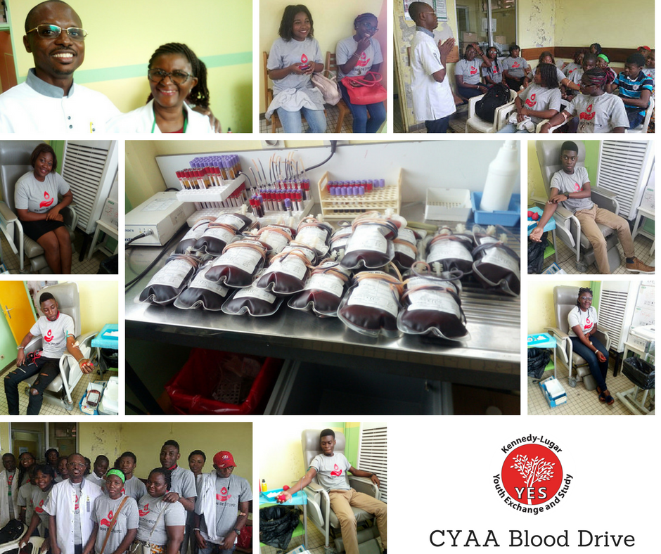 Cameroon Blood Drive