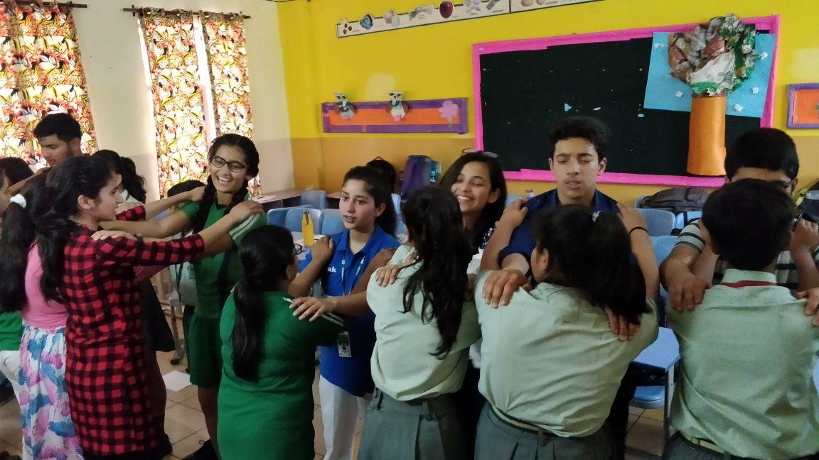 Domestic Exchange Activity During Peace Education 1