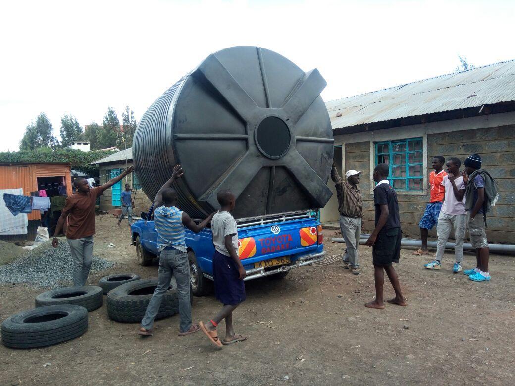 Water Tank On Truck 2